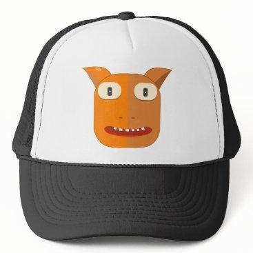 Halloween Themed monster trucker hat