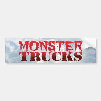 Monster Trucks - Bumper Sticker