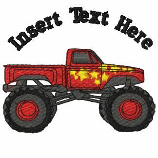 Monster Trucks Embroidered Shirt