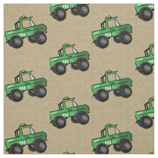 Roads fabric zazzle for Monster truck fabric