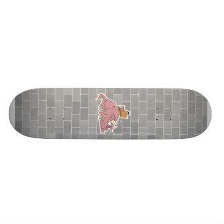 monster under my bed skate board decks