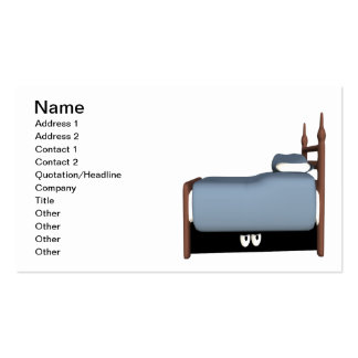 Monster Under The Bed Business Card Template