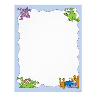 Monster Under The Bed Letterhead