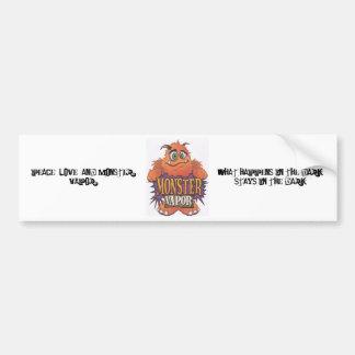 MONSTER VAPOR Bumper Sticker