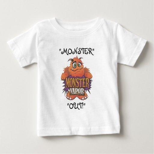 """monster vapor, """"MONSTER"""", """"OUT!"""" Tshirt"""