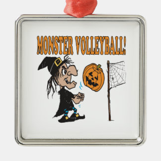 Monster Volleyball Christmas Ornament