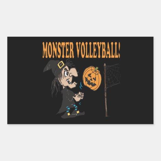 Monster Volleyball Sticker