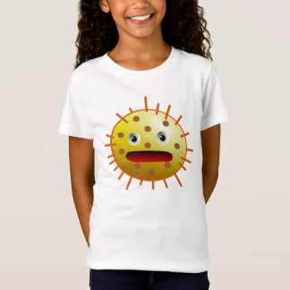 Monster yellow funny bacteria T-Shirt