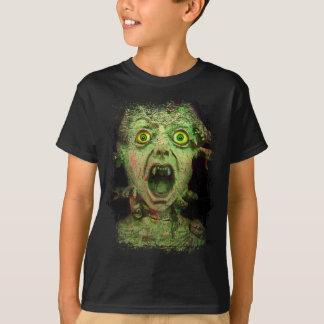 Monster Zombie Green Creepy Horror T-Shirt