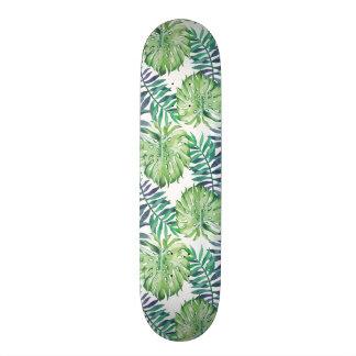 Monstera deliciosa Hawaiian Skateboard Deck