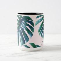 Monstera Pattern Coffee Mug #zazzle