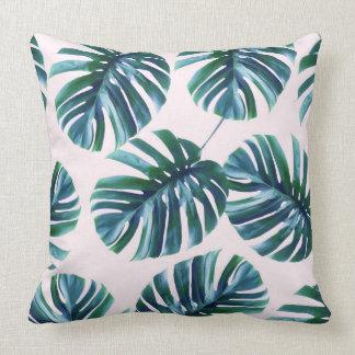Monstera Pattern #zazzle #home #lifestyle Throw Pillow