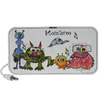 Monstereo 5 Cartoon Monstars Travel Speaker