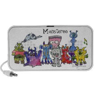 Monstereo 9 Cartoon Monstars Portable Speaker