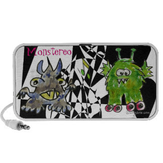 Monstereo Cartoon Monstars 11-12 Notebook Speakers