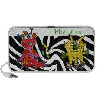 Monstereo Cartoon Monstars 3-4 Notebook Speakers