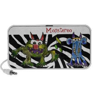 Monstereo Cartoon Monstars 5-6 iPhone Speakers