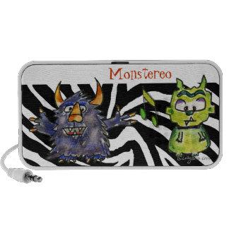 Monstereo Cartoon Monstars 7-8 Mini Speakers