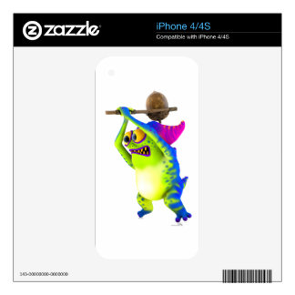 Monsterlings - Clobber iPhone 4S Decal
