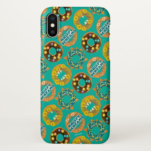 Monsters at Work | Krispy Screams iPhone X Case