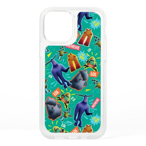 Monsters at Work | MIFT Laughter Pattern Speck iPhone 12 Case