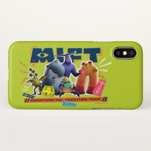 Monsters at Work | Monsters Inc. Facility Team iPhone X Case