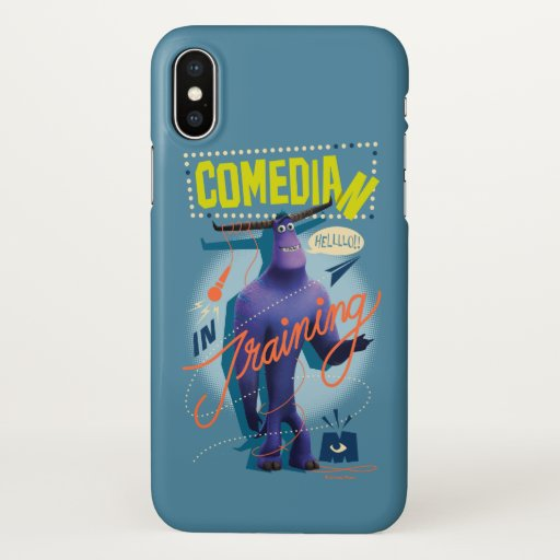 Monsters at Work | Tylor - Comedian in Training iPhone X Case