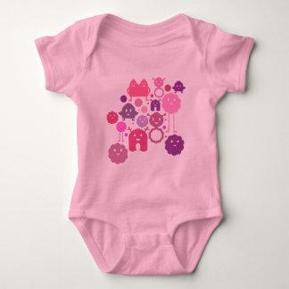 Monsters! Baby Bodysuit