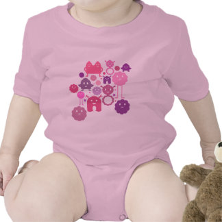 Monsters! Baby Bodysuits