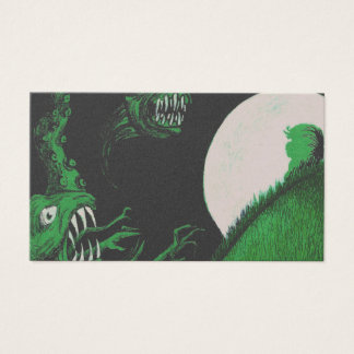 Monsters Business Card