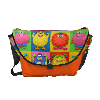 Monsters Courier Bag