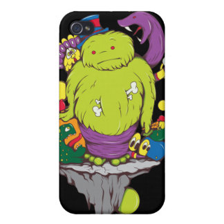 Monsters & Creatures Cartoon Fantasy Cases For iPhone 4