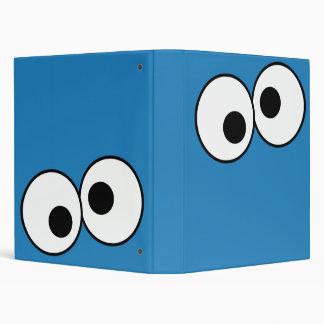 Monster's Eyes 3 Ring Binder