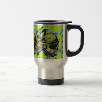 Monsters From Outer Space Travel Mug