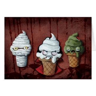 Monsters Halloween Team! Card
