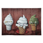 Monsters Halloween Team! Cloth Placemat