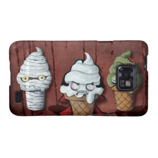 Monsters Halloween Team! Galaxy SII Cases