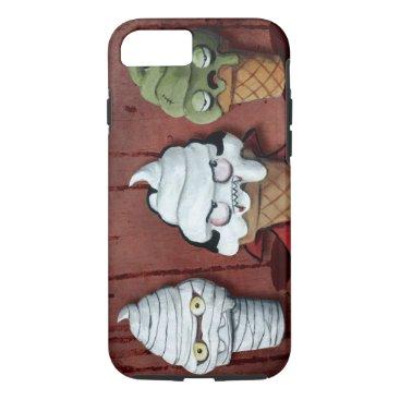 Halloween Themed Monsters Halloween Team! iPhone 8/7 Case