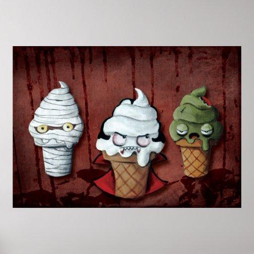 Monsters Halloween Team! Print