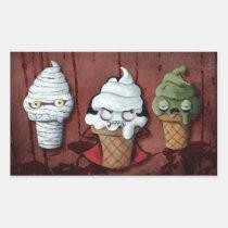 artsprojekt, halloween, halloween gift, halloween ice cream, halloween dessert, mummy, ice cream, vampire, trick or treat, zombie, halloween food, kawaii, cute, cute halloween, halloween idea, halloween design, halloween illustration, kawaii halloween, halloween present, ice cream gift, ice cream present, ice cream cone, Sticker with custom graphic design