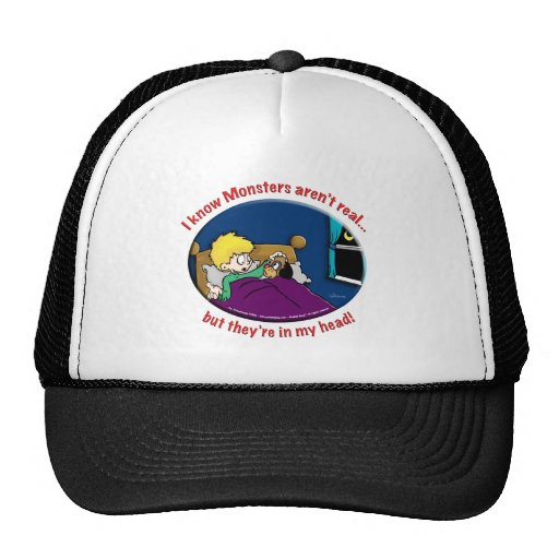 Monsters in my head trucker hat