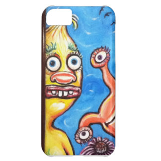Monsters in Summertime Iphone 5 Case