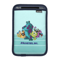 Monsters Inc 8Bit Mike, Sully, and the Gang iPad Mini Sleeve