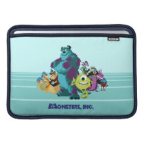 Monsters Inc 8Bit Mike, Sully, and the Gang MacBook Air Sleeve