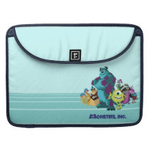 Monsters Inc 8Bit Mike, Sully, and the Gang MacBook Pro Sleeve
