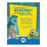 Monsters, Inc. Birthday Invitation at Zazzle