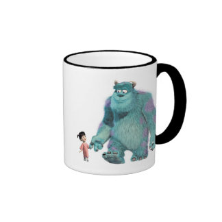 Monsters Inc. Boo And Sulley walking Ringer Coffee Mug