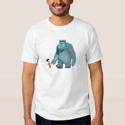Monsters Inc. Boo And Sulley walking T-Shirt