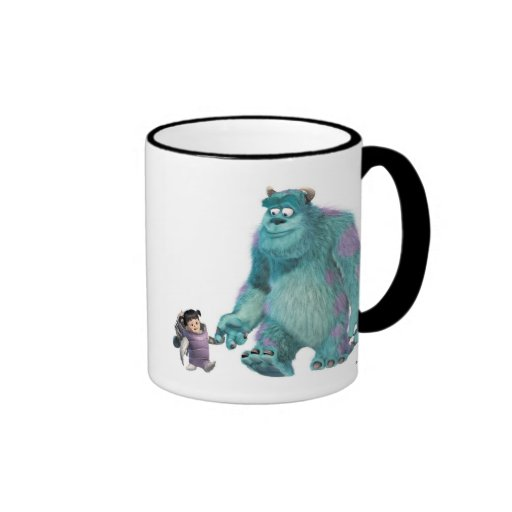 Monster's, Inc. Boo in costume with Sulley Disney Ringer Coffee Mug