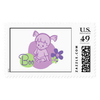 Monsters Inc. Boo Postage Stamp
